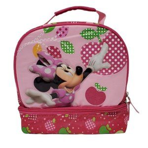 Disney Store Minnie Mouse Apple Lunchbox